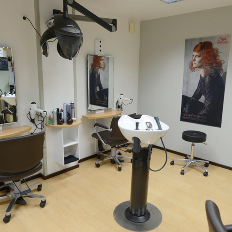 Friseursalon Ansicht Innen - Salon Karin
